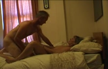 Mature couple sex tape