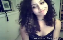 Perfect Latina teen knows how to tease